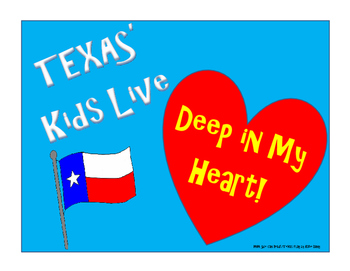 TEXAS Kids Live Deep in My Heart AD
