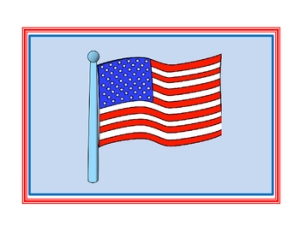 United States National Anthem Lyric Sequencing Cards AD