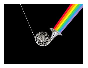 Rainbow horn