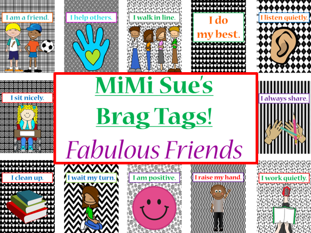 Brag Tags Fabulous Friens COVER PAGE AD PNG