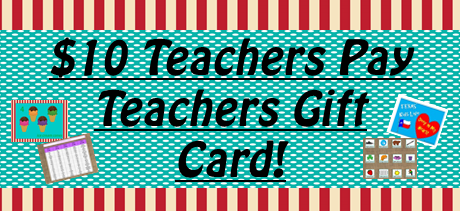 And the Winner of the $10 Teachers Pay Teachers Gift Card is ...
